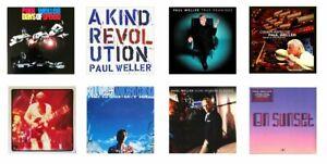 MINIATURE 1/12th Non Playable - LP. RECORD ALBUMS - PAUL WELLER - SET 2 -VARIOUS