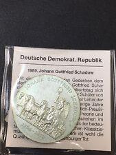 10 Mark DDR 1989 Gottfried Schadow