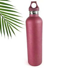 Hydro Flask Insulated Water Bottle Slim Custom HydroDipped Pink Paisley 24 oz