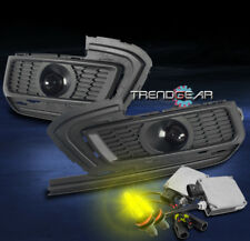 2015-2016 CHEVY CRUZE BUMPER DRIVING PROJECTOR FOG LIGHT CHROME W/3K HID+HARNESS