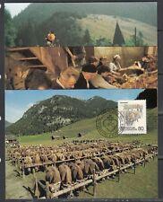 Liechtenstein Scott 915-7 Maxim Card - 1989 Custom Issue