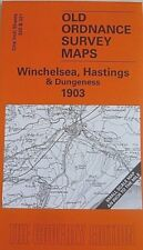 Old Ordnance Survey Map Winchelsea Hastings Dungeness  Area 1903 Brand New