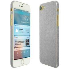 Skinomi Brushed Aluminum Skin+Clear Screen Protector For Apple iPhone 8
