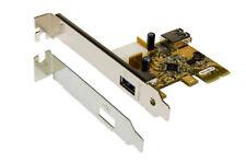 EXSYS ex-11081-2 - USB 3.0 cârte PCI-Express mit 1 Externe + 1 interne Port