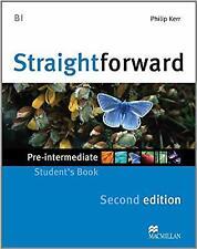 Straightforward Pre-intermediate Level: Students Book, Kerr, Phillip, New Book