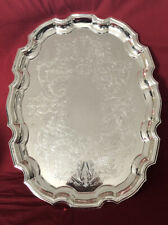 Large Vintage Silver Plated Tray c.1970's