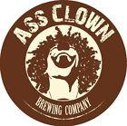 Ass Clown Brewing Company Sticker Beer Micro Brewery Cornelius North Carolina NC