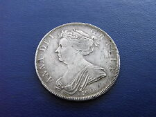 Queen Anne Silver VIGO Half-Crown 1703