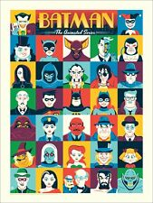 Dave Perillo Batman The Animated Series Harley Quinn Print Poster Art Joker
