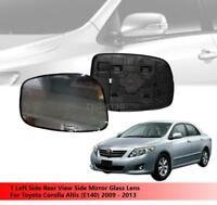 1 LH Mirror Glass Lens For Toyota Fortuner 2005 2006 2007 2008 2009 2010 2011