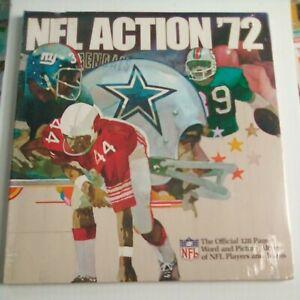 1972 Sunoco DX NFL Football Unopened Stamp Album Miami Dolphins Dallas Cowboys