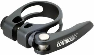 Controltech Seat Clamp Aluminum 34.9mm Quick Release Mountain/Road/Racing Black