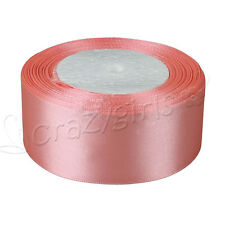 """1 Roll 25 Yards Satin Ribbon Craft 1.5"""" 38mm Wide Bow Wedding Party Supplies Hot"""