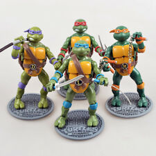 4PCS Teenage Mutant Ninja Turtles Movie TMNT Set Action Figures Toys Gift Loose