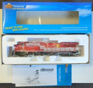 Broadway Limited AC6000 Canadian Pacific Golden Beaver DCC Sound #9801 HO CP