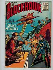 Blackhawk #101 (Jun 1956, Quality Comics)! VG3.5-! Early silver age beauty! RARE
