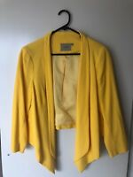 Thurley Blazer Waterfall Jacket AU 10 Yellow