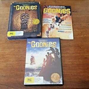 The Goonies 25th Anniversary Collectors Edition BOX SET DVD R4 VERY GOOD
