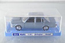 JN064 Schuco Modell #617 1:43 BMW 520 - bleu/girs met. A-/a