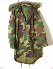 Vtg Cybertek Military Gear Camo Zip Hoodie Jacket Coat Sz XL