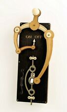 Green Tree Jewelry Single Toggle Black Wood Light Switch Plate Cover
