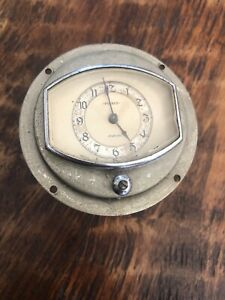 Vintage Mid 1930's Pierce Arrow Clock Gauge Geo W. Borg Corp