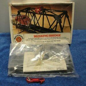 BACHMANN HO GAUGE BLINKING BRIDGE #46-1221 NEW IN ORIGINAL BOX