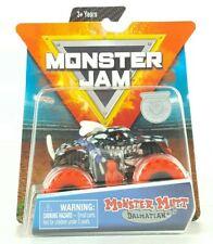 Spin Master Monster Jam Monster Mutt Dalmatian Inverse Trucks Red Mix 7 Kids Toy