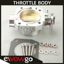 Billet Aluminum 70mm Throttle Body For Honda Civic SI CRX Integra GSR