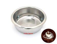 COFFEE FILTER BASKET 18 / 21gr 3 CUP 58mm ID *RIDGELESS* espresso coffee machine