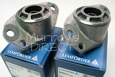 PAIR Lemforder OEM Top Rear STD Suspension Mounts - VW Mk4 Golf Hatchback & Bora