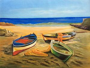 """BOAT"" | 90cm x 120cm Handpainted | Textured | Artwork | On Canvas | AUS Stock"