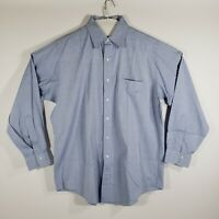 Brooks Brothers Mens Dress Shirt Button Up Long Sleeve 100% Cotton Size 15.5/32