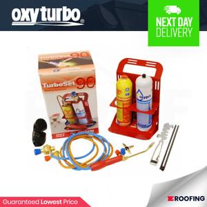 Oxyturbo Turbo Set 90 Lead Welding & Lead Burning Kit | Oxgyen & Gas Refill