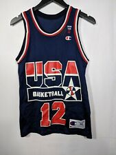 Vtg USA Dream Team II Dominique Wilkins Jersey Men's 36 S Champion 90s Olympics