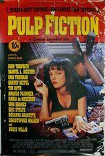 Pulp Fiction Tarantino Travolta Jackson Movie Poster Iron On T-Shirt Transfer A5
