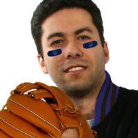 New York Mets MLB Vinyl Face Decorations 6 Pack Eye Black Strips