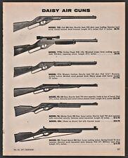 1971 DAISY 102 1776 Golden Eagle 111 95 96 496 99  BB Gun Air Carbine & Rifle AD