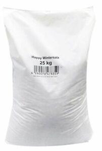 (0,40€/1kg) Happy-Wintersalz - Splitt-Salzgemisch 25 kg Streusalz Streugut