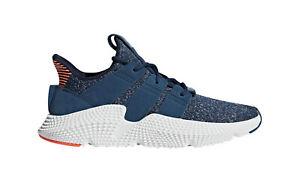 adidas Mens Prophere Shoes Blue Night/Orange AQ1026 Size 9
