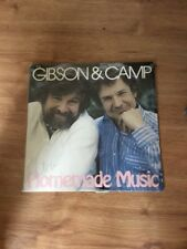 Gibson & Camp Homemade Music Lp NM Shrink
