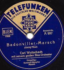 CARL WOITSCHACH Orchester : Somme-Kämpfer  ( Major Ernst Stiebritz )