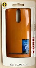 Brand New Krusell Shell Case for Sony Xperia S * Orange/Copper Colour * Sealed