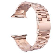 Armband für Apple Watch 38/40/42/44MM Series 4/3/2/1 Edelstahl Metall Ersatz