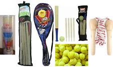 Garden Games Outdoor Tennis Balls Tennis Badminton Cricket Set Sports Ludo Rope