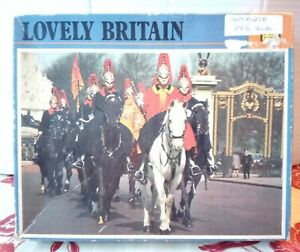 KG Household Cavalry 400 piece Jigsaw Puzzle Horse Military London Vintage Rare