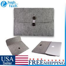 "Felt Sleeve Case Carry Bag Pouch for Macbook Air Pro Retina 11.6""/ 13.3""/ 15.4"""