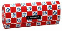 Dolce&Gabbana Authentic Sunglass Case 11 Colors Choose Leopard,Velvet,Gold &More