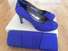 Nouveau-Jacques vert chaussures & sac à main, taille 4, bleu cobalt