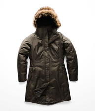 Brand New The North Face Women's Arctic Parka II NEW TAUPE Green Size M NWT